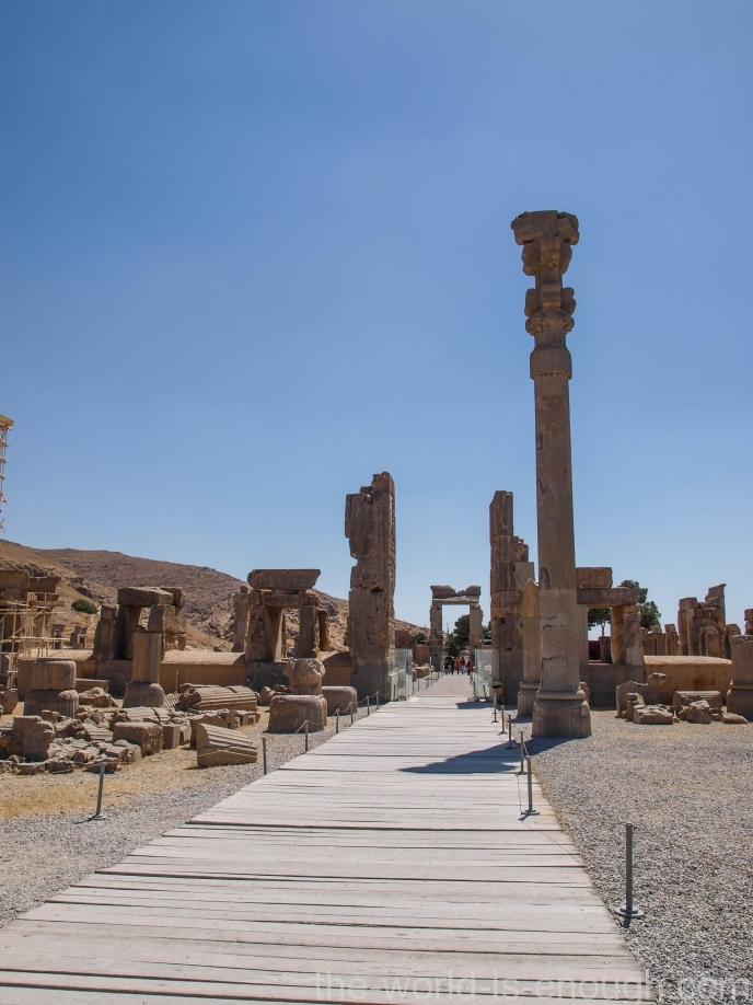 Стоколонный зал, Персеполь