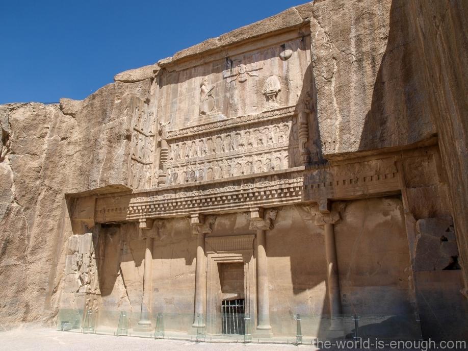 Персеполь, Вход в гробницу Артаксеркса III
