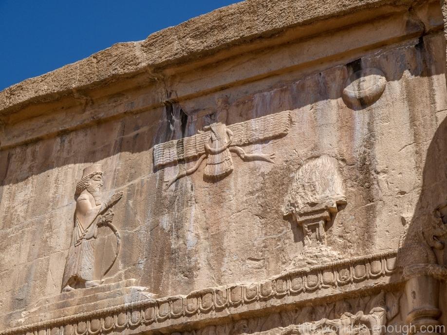 Персеполь, Усыпальница Артаксеркса III