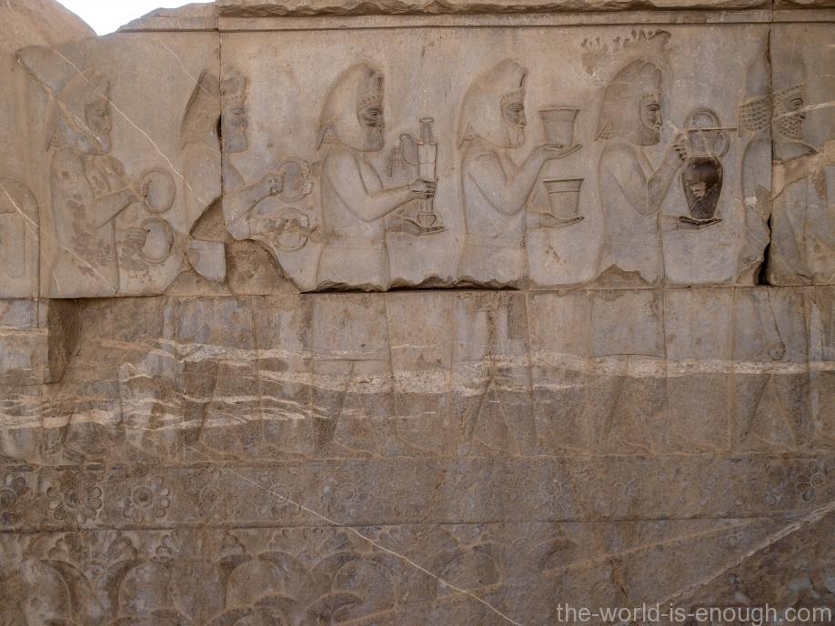 Персеполис, Трон Джамшуда