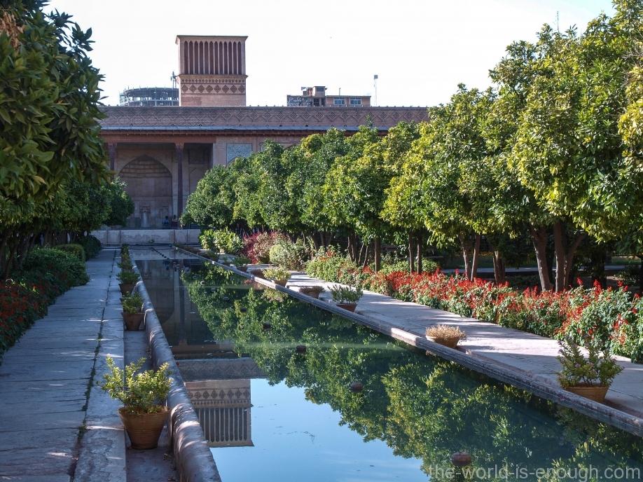сад крепости Керим-Хана, Шираз.