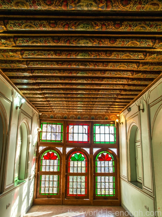 Комната на втором этаже дома Кавамов, Шираз
