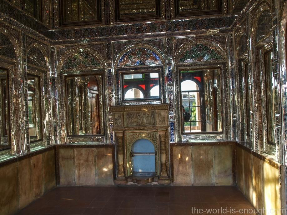 Тронный зал дома Кавамов, Шираз