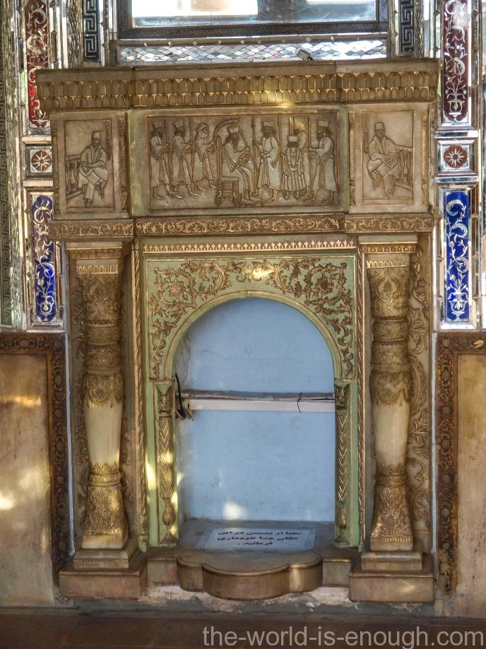 Камин в доме Кавамов, Шираз