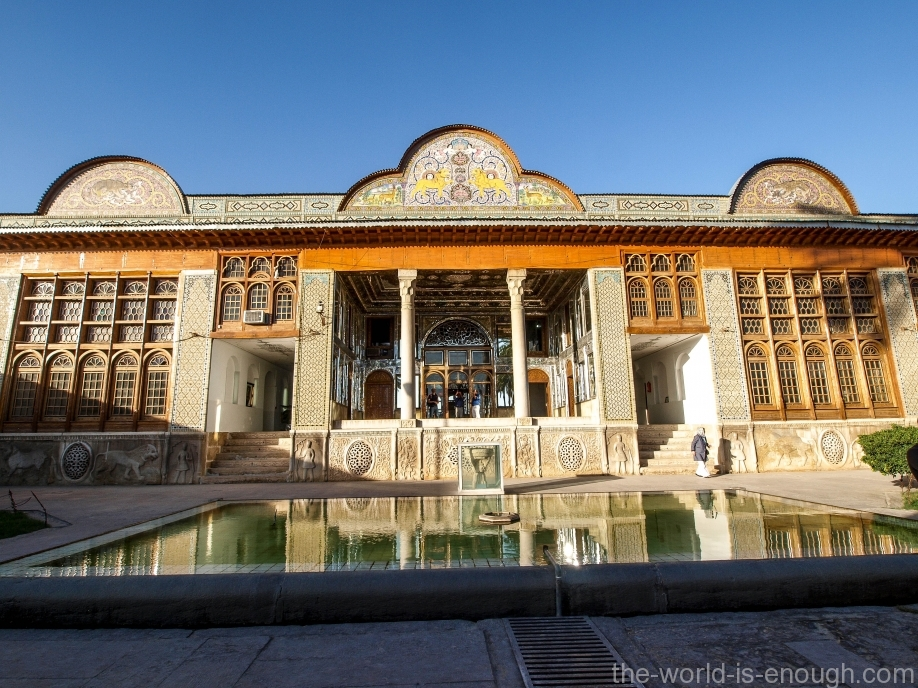 Беруни дома Кавамов, Шираз