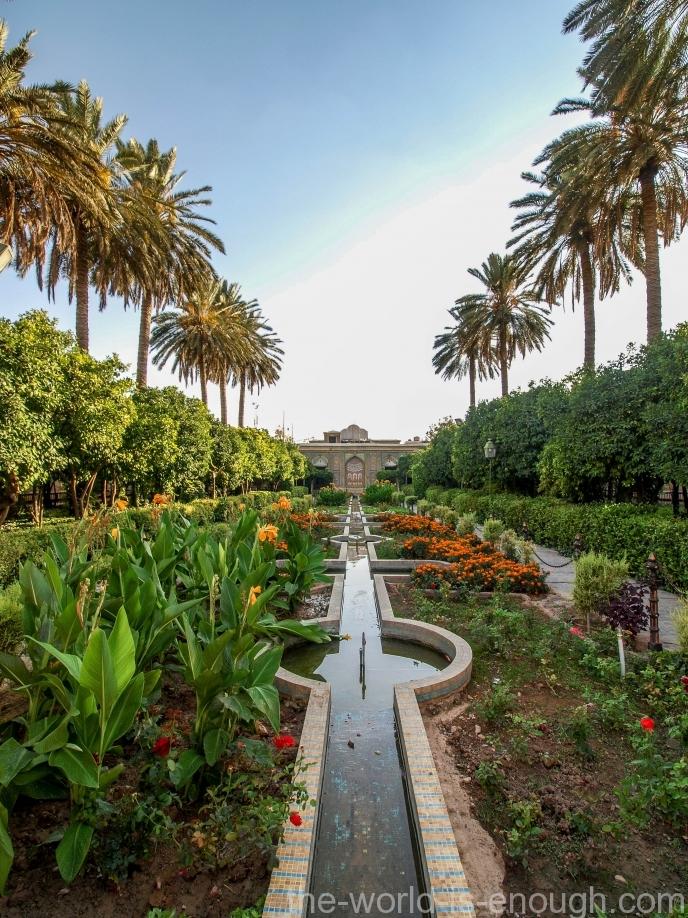 Сад Нарежестан, Шираз