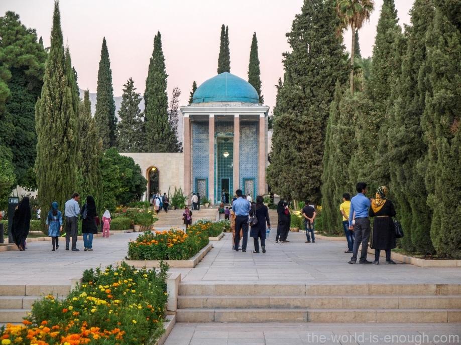 Шираз, Гробница Саади