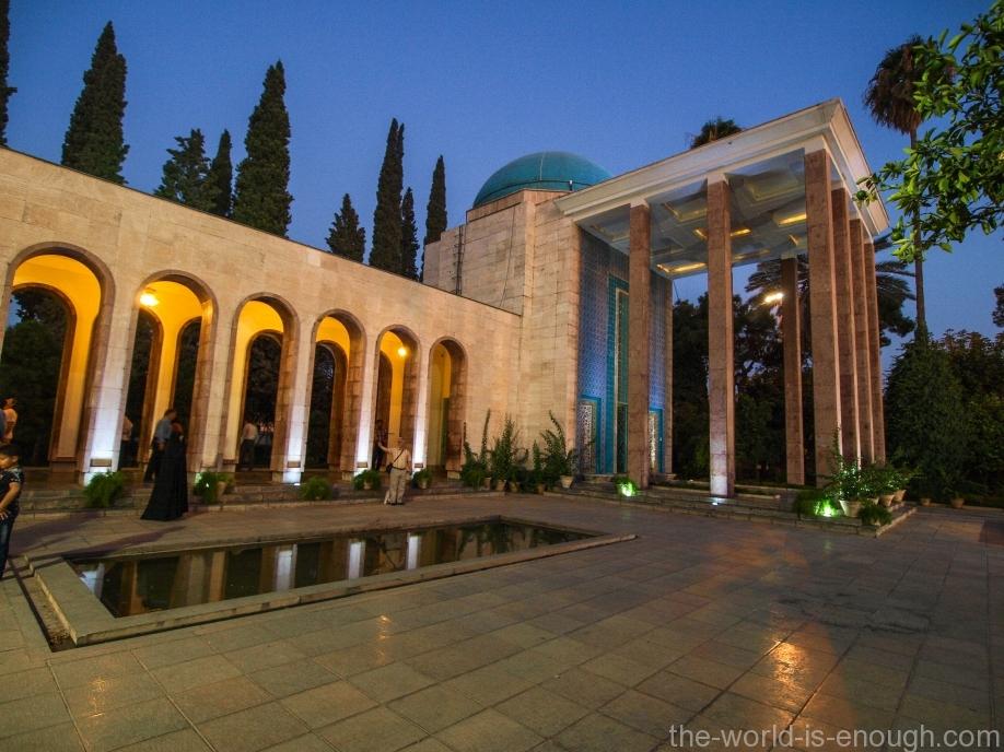 Иран, Шираз, Гробница Саади