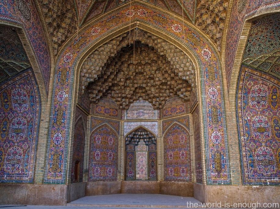 Розовая мечеть Насир ол-Молк, Шираз