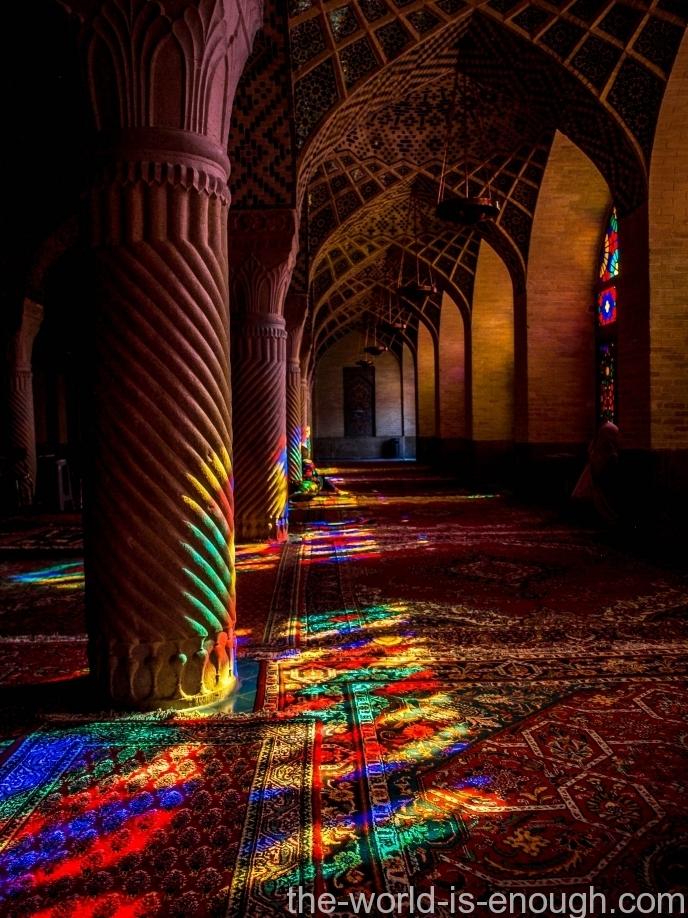 мечеть Насир ол Молк, Шираз