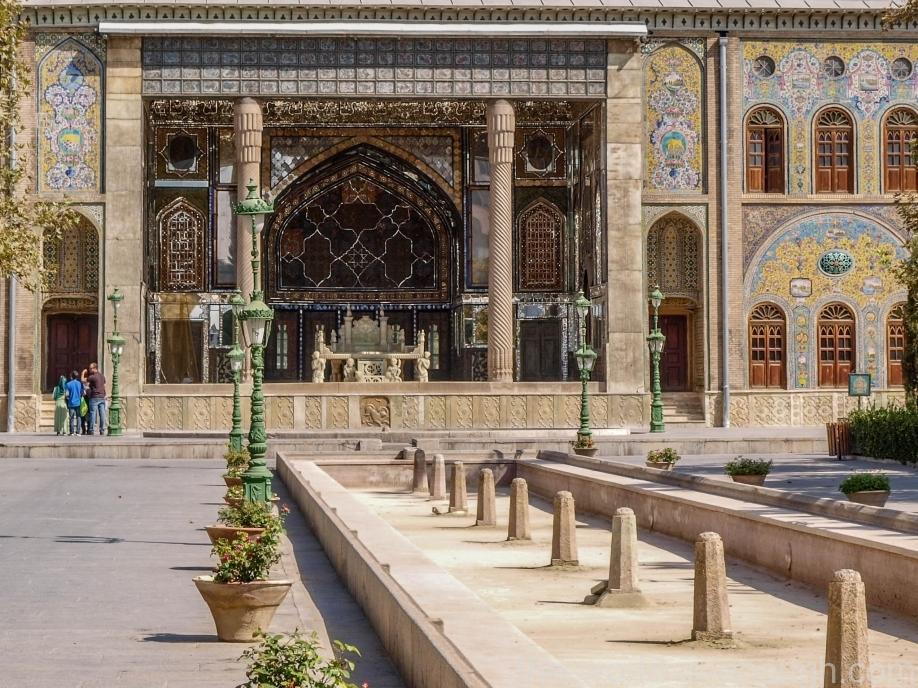 Тегеран, дворец Голестан, Marble Hall of Golestan Palace