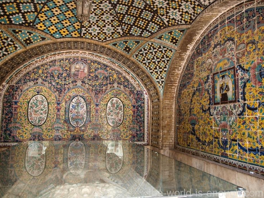 Тегеран, дворец Голестан, Naser al-Din Shah Qajar Tomb
