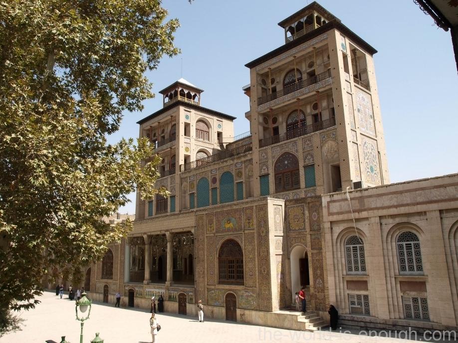 Тегеран, дворец Голестан, Дом Солнца, Edifice of the Sun