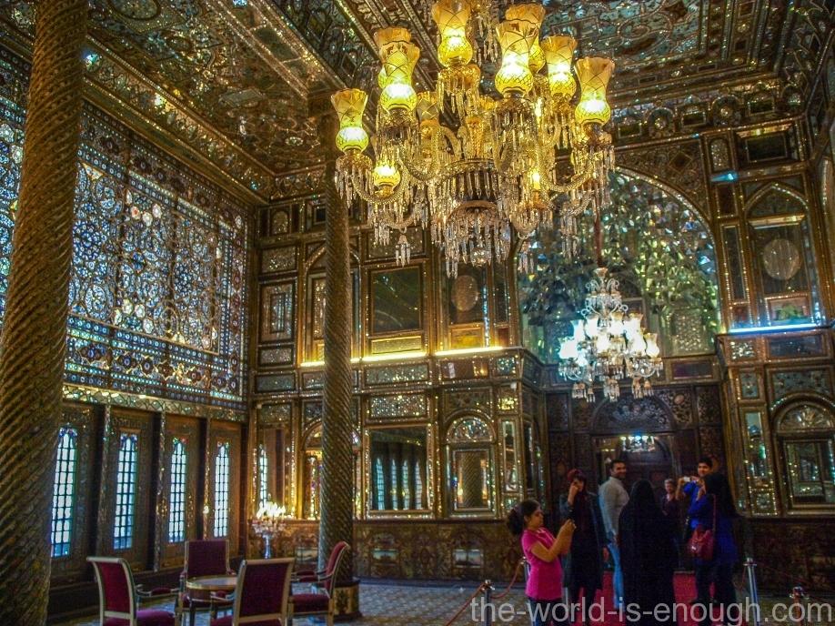 Тегеран, дворец Голестан, Golestan Palace