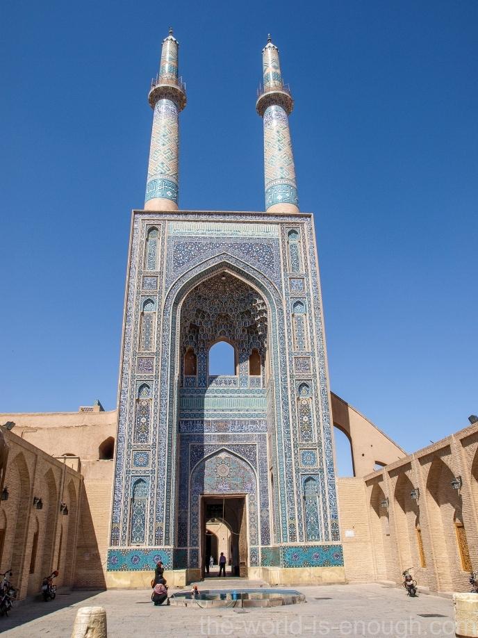 Мечеть Джаме в Йезде