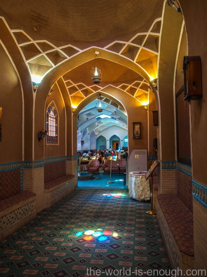 Moshir al-Mamalek Garden Hotel, Iran, Yazd