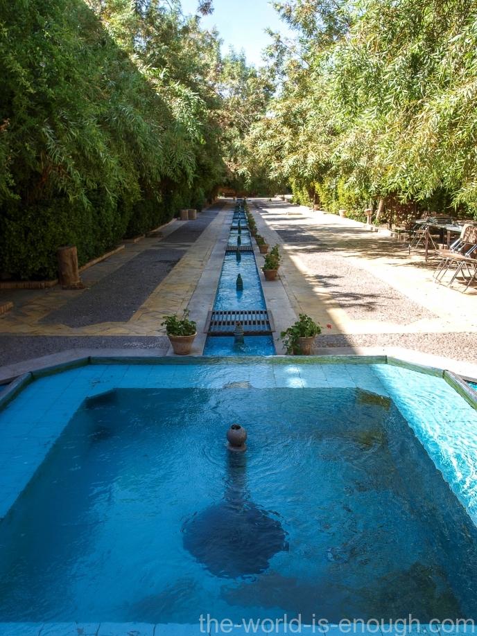Сад отеля Moshir al-Mamalek Garden Hotel, Язд, Йезд