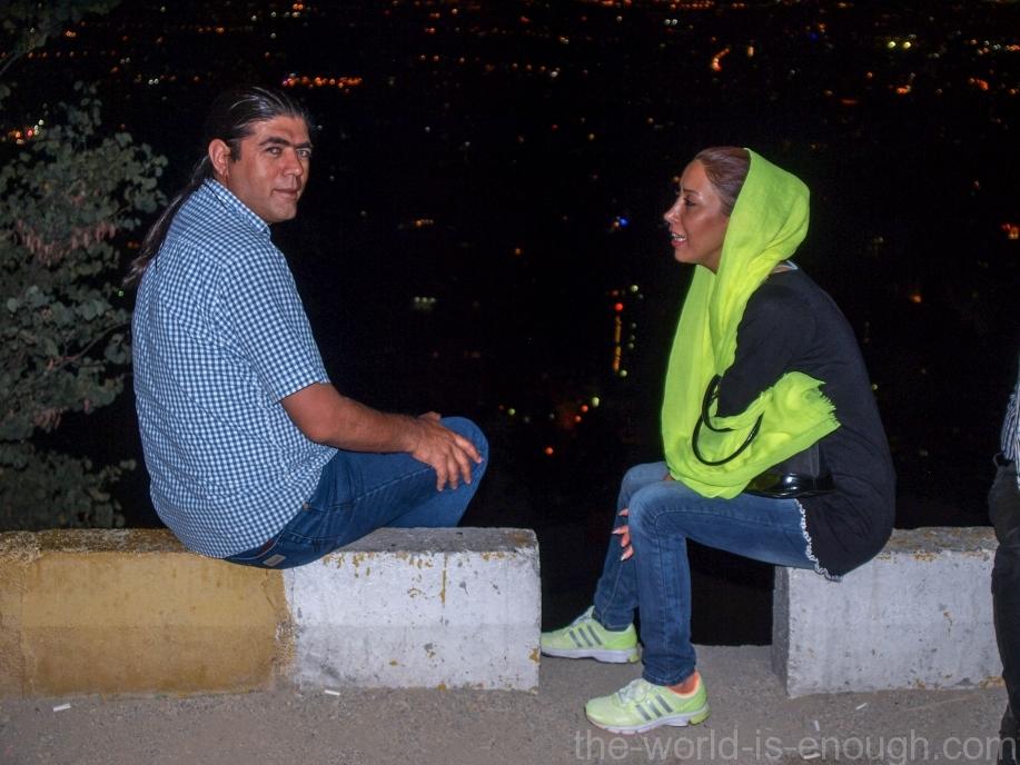 Али и Марьям над Тегераном, Веленжак