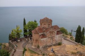 Ohrid Church of St. John at Kaneo