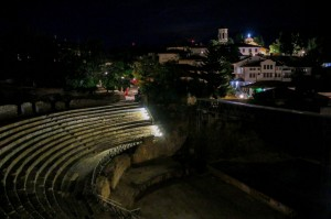 Ohrid, Ancient Theatre of Ohrid