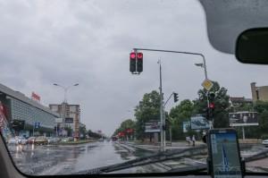Skopje traffic lights