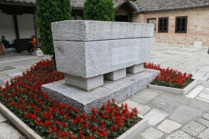 Skopje Old City Church of the Ascension of Jesus, Gotse Delchev grave