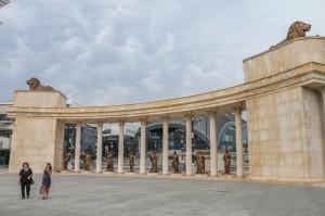 Skopje, Colonnade of Macedonian Independence