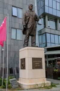 Skopje , Sharlo Monument