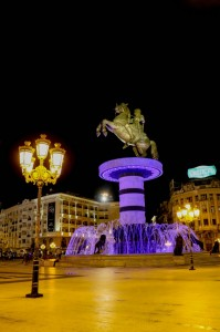 Skopje Warrior on a Horse Statue (Alexander III of Macedon)