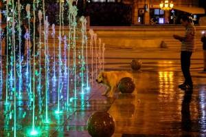 Skopje, Macedonia Square