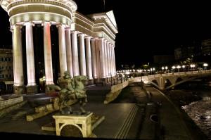 Skopje Karpoš's Rebellion Square