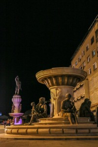 Skopje Fountain of the Mothers of Macedonia