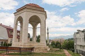 Skopje, Gazi Isa Bey's Mosque and The grave of Ishak Bey