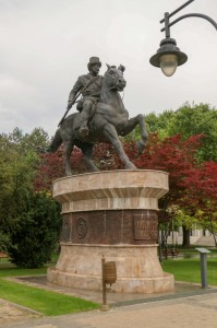 Skopje Park of The Woman Freedom-fighter, Pitu Guli Monument