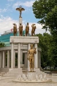 Скопье, Парк Женщина-борец - Skopje Woman Warrior park