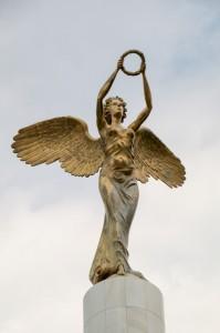 Skopje Park of The Woman Freedom-fighter, Prometheus Memorial