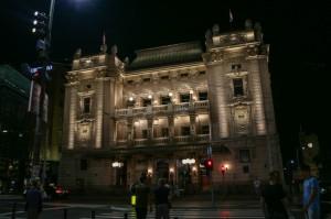 Belgrade Night, National Theater