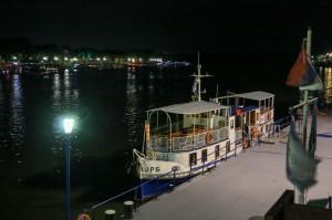 Belgrade Night, Savamala, the embankment of the Sava River