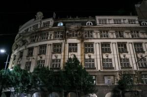 Belgrade Night, former Bank of Jugoslavia building