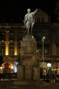 Belgrade Night, Vojvoda Vuk Monument