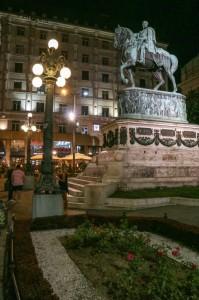 Belgrade, Square of Rebublica, Prince Mihailo Monument