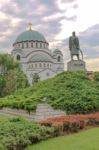 Church of Saint Sava, Belgrade and Karađorđe Monument