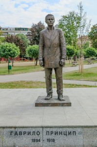 Belgrade Gavrilo Princip Monument