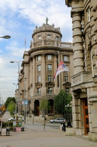 Belgrade The Palace of the Ministry of Forests and Mines and the Ministry of Agriculture and Water