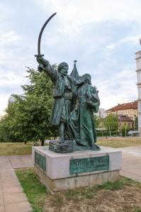 Belgrade Prince Milosh Monument