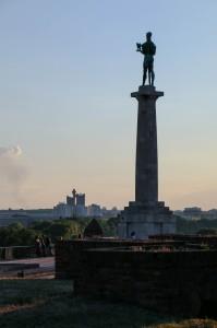 Belgrade Fortress Pobednik (The Victor) Monument