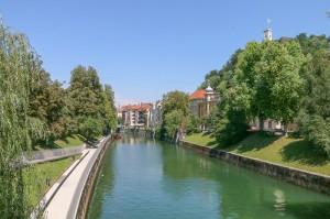 Ljubljana  Ljubljanica River