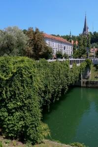 Ljubljana  Ljubljanica River, St James Bridge