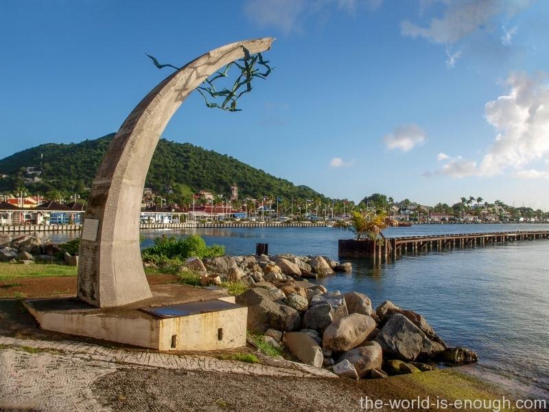 Monument to a New Beginning - Marigot, St. Martin