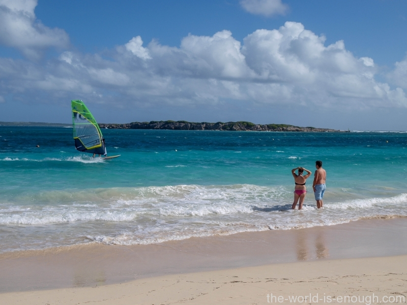 Saint Martin Island, Orient Beach